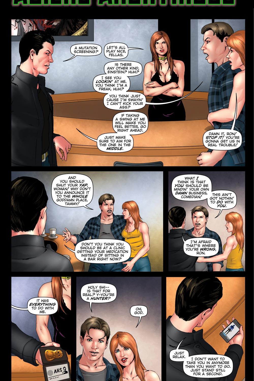 comic book, Aliens Anonymous, Arkansas - based comic book