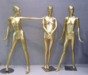 Gold Manequin