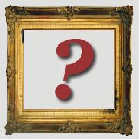 framed question mark