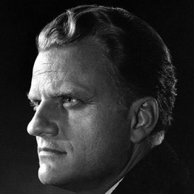 dr billy graham young man