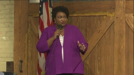 Stacey Abrams Thank you tour Savannah Station 2019