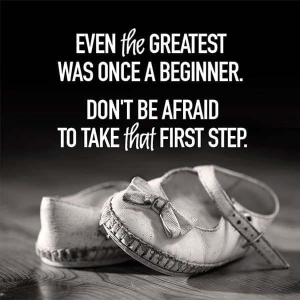 first step